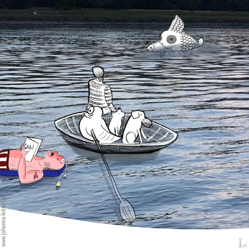 Baumpoesie Phantasie Illustration