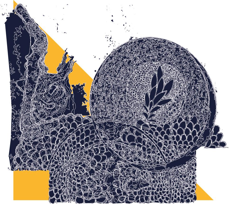 Patterns of life Illustration Wien Johanna Leitner