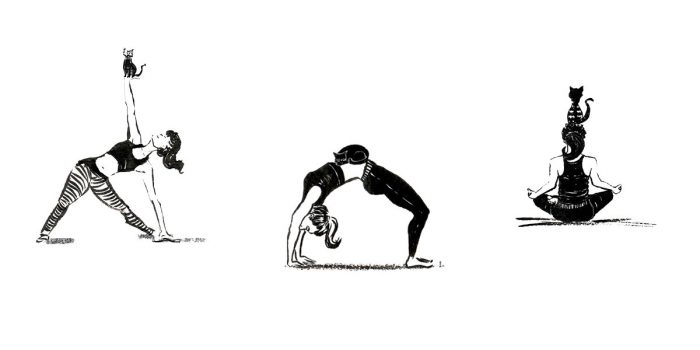 Brücken bauen. Illustration Johanna Leitner Wien