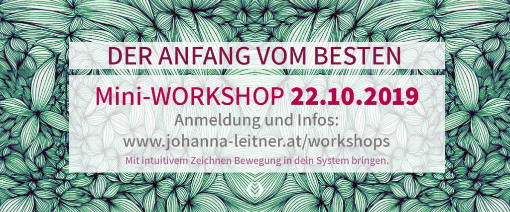 Intuitives Zeichnen - Workshop in Wien